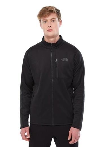 The North Face Canyonlands Tam Fermuarlıerkek Sweatshirt Siyah Siyah